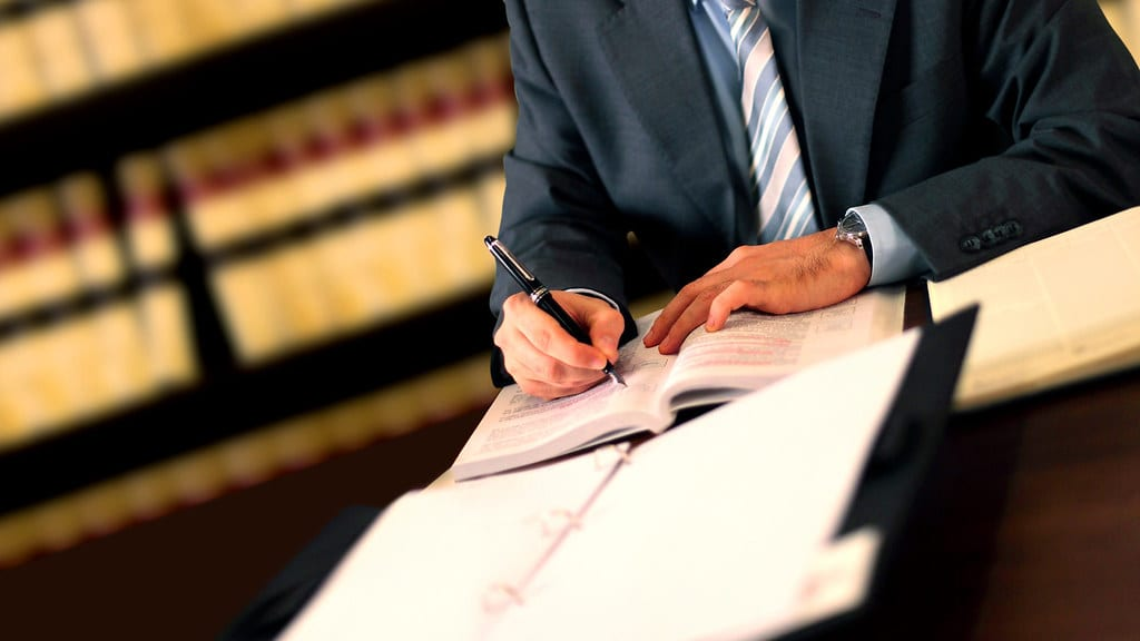 Lawyer Writing