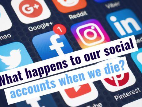 Social accounts when we die