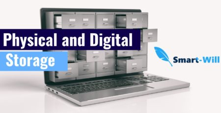 physical and digital storage of wills